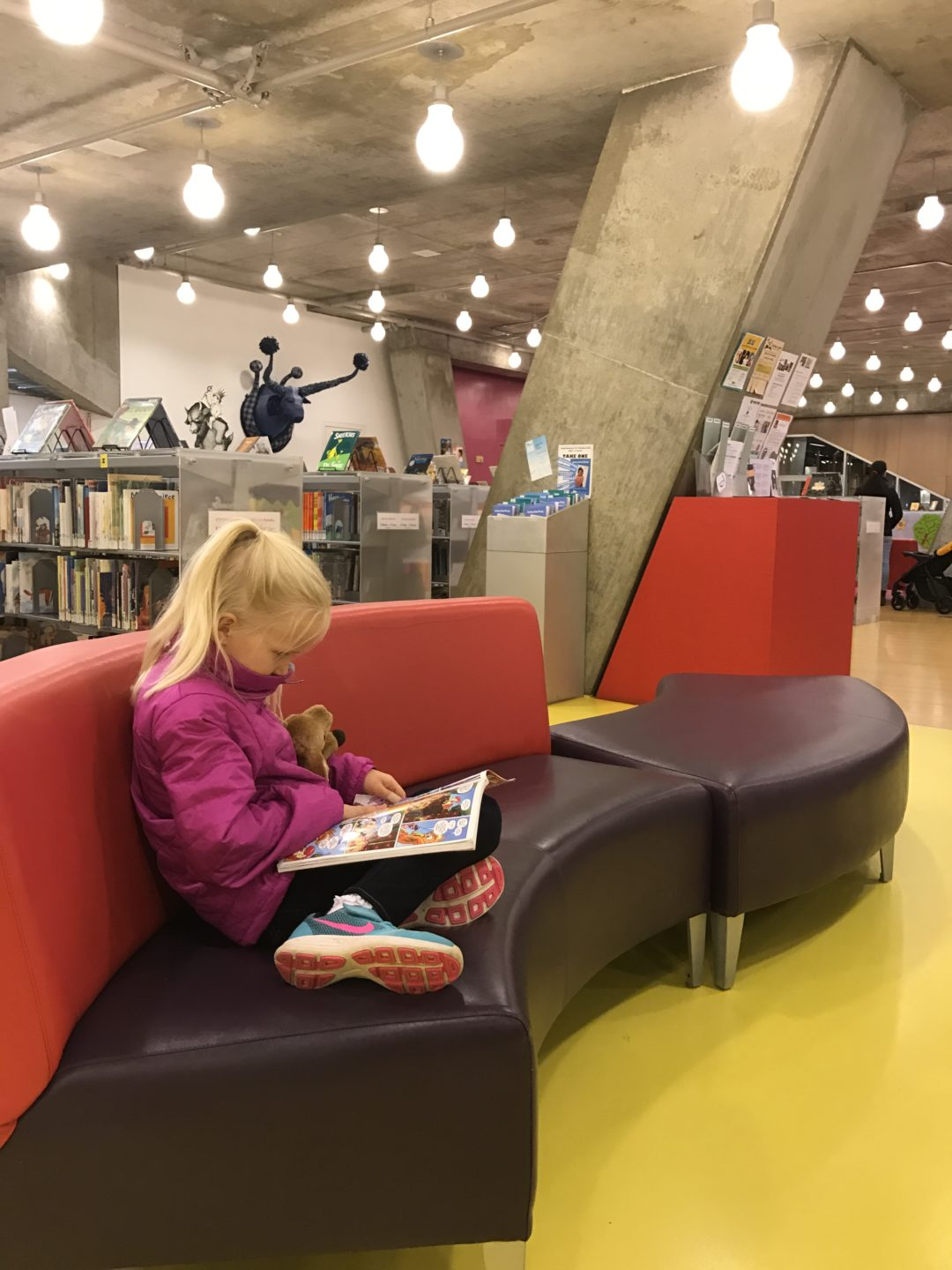 Reading in the Seattle Public Library